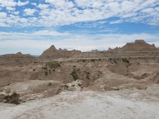 Badlands rocks 3