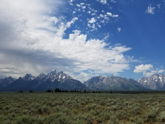 Drive to Tetons 10
