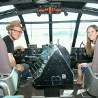 """Visiting the """"Spruce Goose"""""""