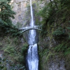 The Majestic Waterfalls of the Historic Columbia River Highway in Oregon