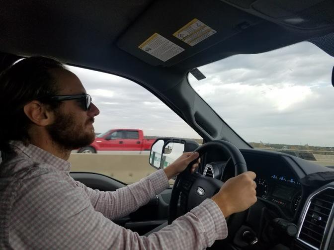 john-driving