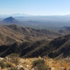 Climbing Wasson Peak, Highest Point in the Tucson Mountain District of Saguaro N.P.